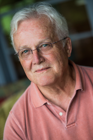 """Two-time Pulitzer Prize fiction finalist Russell Banks will explore the subject of """"Book to Film"""" in an on-stage dialogue at 4pm, Friday, August 26th (photo by Nancie Battaglia)"""