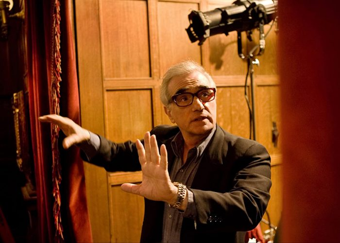 Martin Scorsese on the set of Shutter Island (2010)